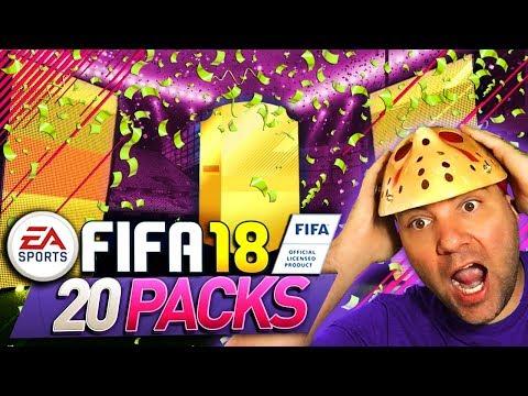 FIFA 18 DESCERAM OS MONITORES É DA ALEMANHA -  FIFA 18 PACK OPENING