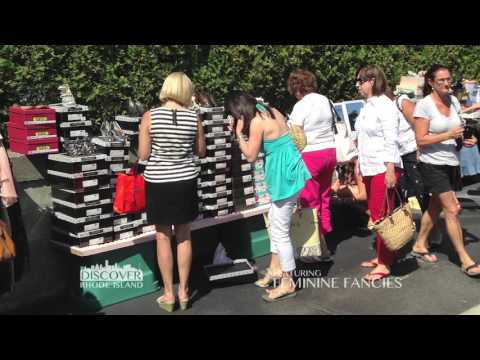 "Feminine Fancies, a ""Discover Rhode Island"" television segment"