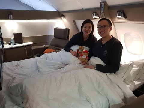 NEW Singapore Airlines Suites (Double Bed) – Sydney To Singapore (SQ 232) – Airbus A380-800