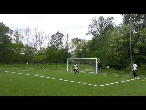 John Cenatiempo- Goalkeeping warm up and shot stopping