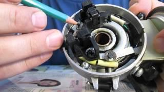 видео по установке двух датчиков холла на стандартную пластину распределителя зажигания 038.3706