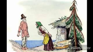 А.С.Пушкин Золотая Рыбка, аудио сказка с картинками. Сказки на ночь