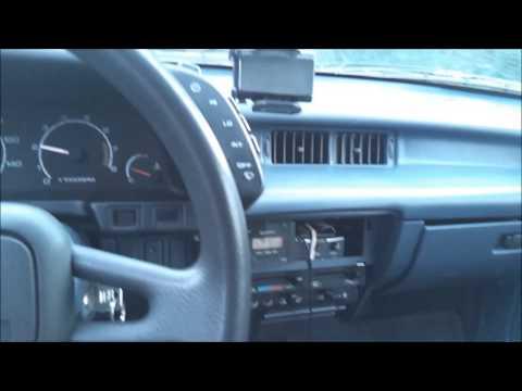 Driving my Turbo 3 cyl. Geo Metro Swift
