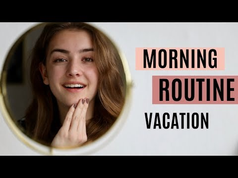 MORNING ROUTINE ON VACATION | R O S A L I E