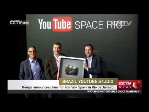Download Google announces plans for YouTube Space in Rio De Janeiro