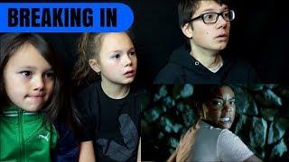 BREAKING IN Official Trailer Reaction!!!