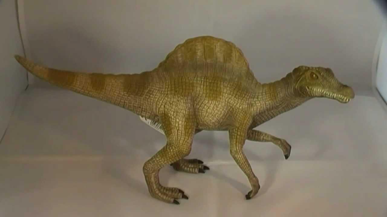 Schleich : Spinosaure (Spinosaurus)+ Figurines et cartes à collectionner +
