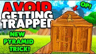 AVOID GETTING PYRAMID TRAPPED | NEW TRICK TO UTILIZE! | FORTNITE BATTLE ROYALE (TIPS & TRICKS)