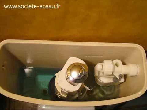 Conomiser l 39 eau des toilettes youtube - L eau des toilettes remonte ...
