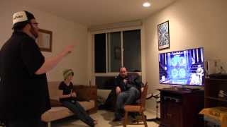 Repeat youtube video Jesse Cox vs Dodger - Star Wars Kinect Dance-off