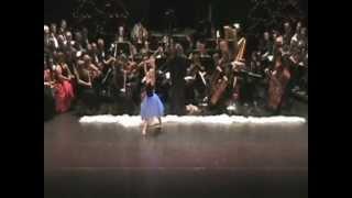 Christmas Waltz, Paula DeWit, Conductor, Chilliwack Symphony Orchestra, Dancer Alida Swanson