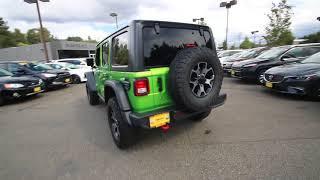 2018 Jeep Wrangler Unlimited Rubicon | Mojito! Clearcoat | JW290742 | Redmond | Seattle