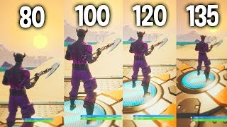 Comparing Different FOV Resolutions In Fortnite! - Fortnite Fov Slider