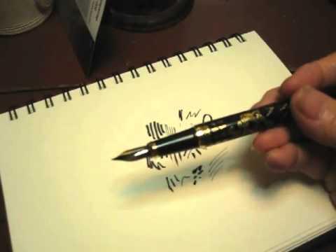 Bent Nib Pen Play