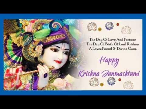 Happy Krishna Janmashtami 2016- Wishes In Hindi, Greetings, SMS, Whatsapp Video