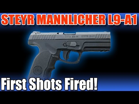 Steyr Mannlicher L9-A1 - First shots fired
