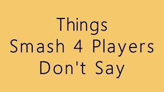 Things Smash 4 players Don
