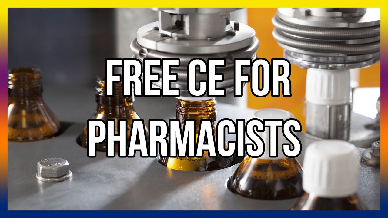 Free CE For Pharmacists
