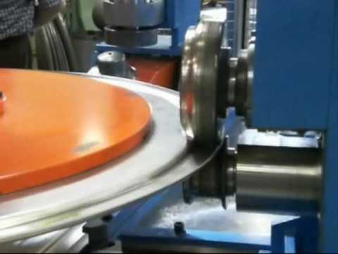 Trimming Beading Machines Sheet Metal Men Wmv Youtube