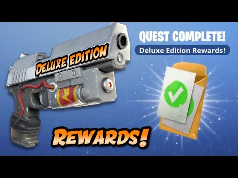Fortnite Save The World Rewards For Deluxe Edition