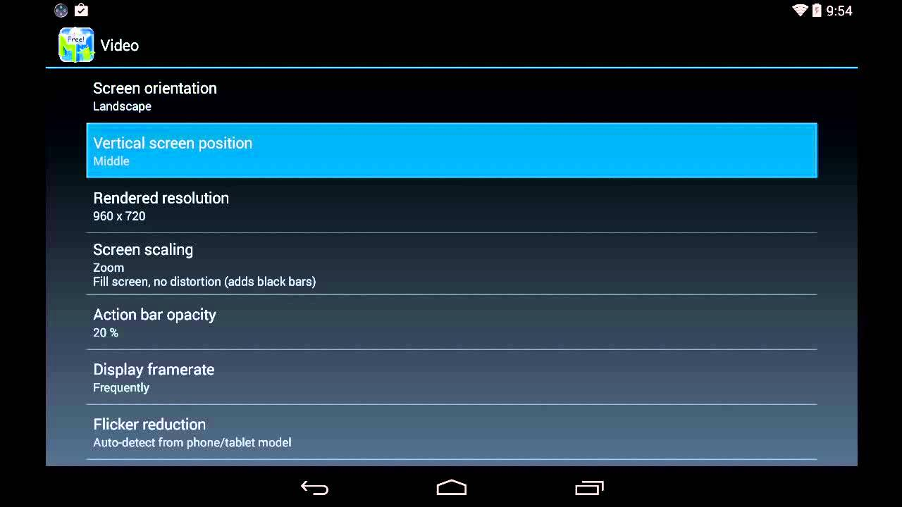 Mupen64 Plus AE Emulator 2 4 4 Settings / Configuration for Android Nexus 7  [720p HD]