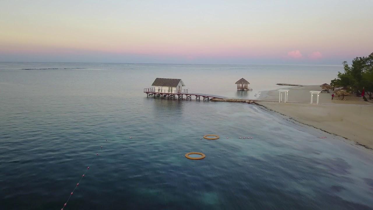 Sandals South Coast Over The Water Wedding Chapel Review Walk Though DJI Mavic Pro 4K