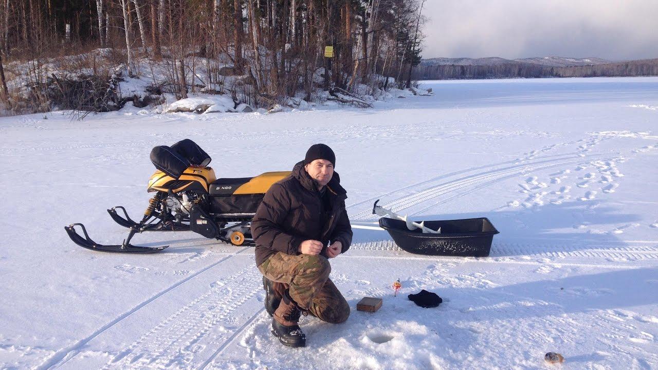 Рыбалка на озере Миассовое. Январь 2017 год.