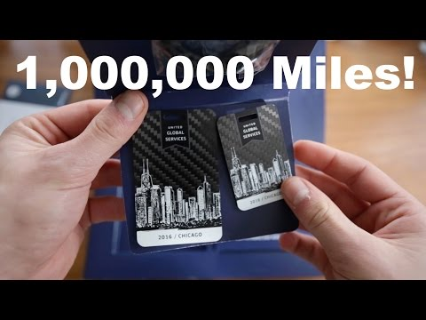 United Airlines Global Services MILLION Miler Unboxing! What Do You Get for 1,000,000 Miles?