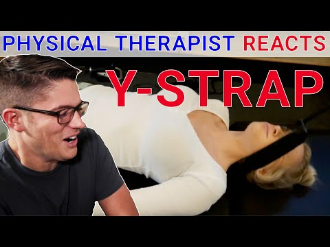 Physical Therapist Reacts to Chiropractic Y Strap Adjustment + 3 Techniques to Fix Neck Pain