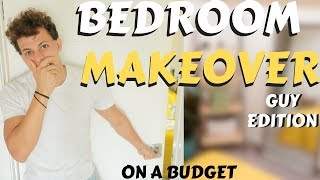 Bedroom makeover under $300 | Before and After