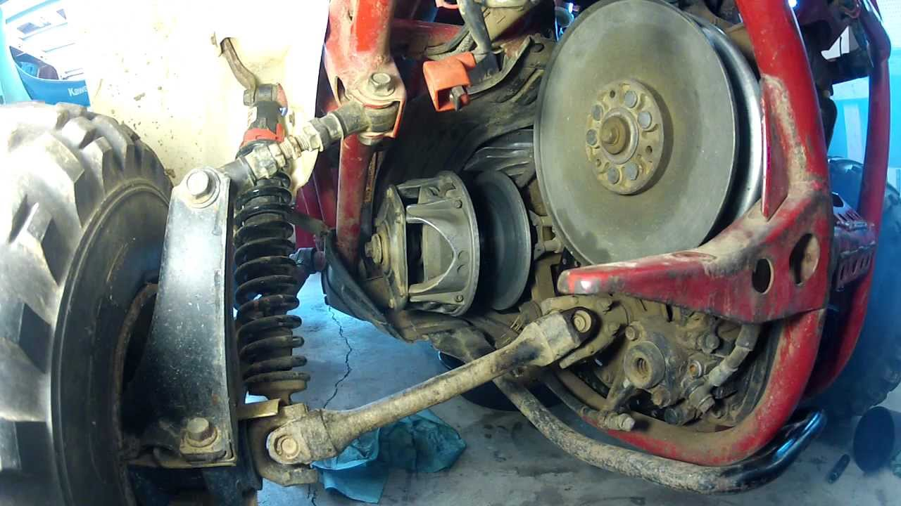 honda odyssey fl350 clutch problem