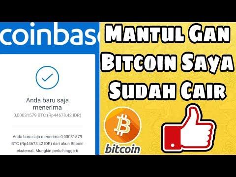 Penghasil BITCOIN Paling Mantul Sudah Cair Alias WD