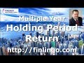 Multiple Year Holding Period Return