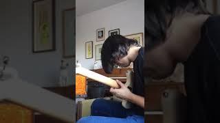 Eli, noodling on jazz master