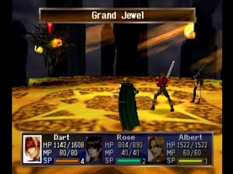 The Legend of Dragoon Part 45 - Grand Jewel; Dragon Block Staff Obtained!