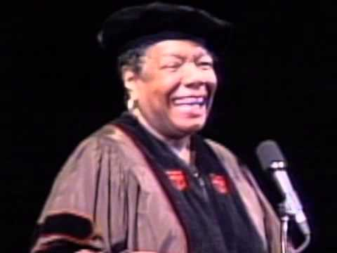 Maya Angelou's address at 1998 SCAD Commencement