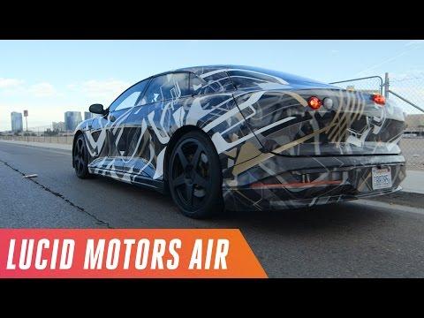 A ride in Lucid Motors' Air prototype