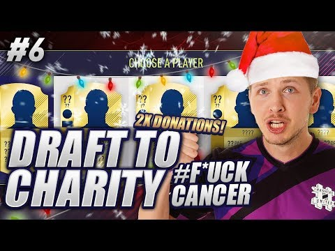 I DOUBLE THE DONATION - CHRISTMAS SPECIAL!! FIFA 18 DRAFT TO CHARITY #6