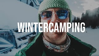 Wintercamping im Bulli bei -14°C ❄️ verrückt oder gemütlich?