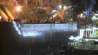 14-06-2011 - Eerste lng-tanker komt aan in Rotterdam