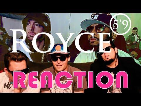 "(Reaction)  Royce Da 5'9"" - Caterpillar Ft. Eminem"