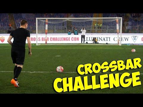 CROSSBAR CHALLENGE ALLO STADIO OLIMPICO!! INCREDIBILE! w/ IlluminatiCrew & Sodin