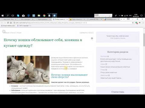 Как создать сайт на юкоз пошагово, инструкция #3