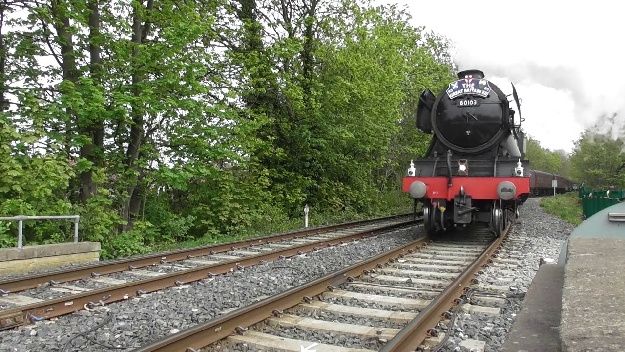 'The GBXII Rail Tour' (Day 9) - LNER A3 Pacific No  60103 'Flying Scotsman'  - York - 5th May 2019