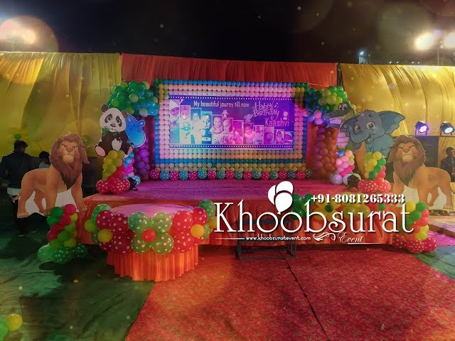 jungle theme party khoobsurat event