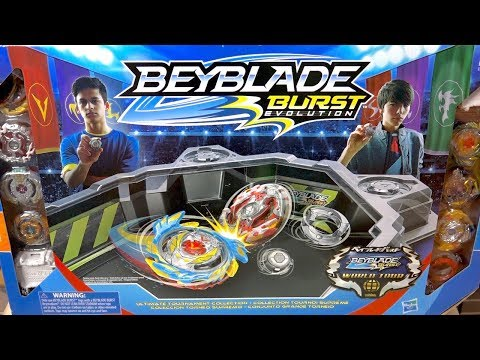GET READY FOR THE WORLD CHAMPIONSHIP! - Beyblade Burst Evolution Ultimate Tournament Collection