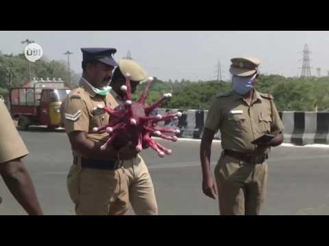 شرطي -الكورونا- يوقف السائقين في الهند!  - نشر قبل 16 ساعة