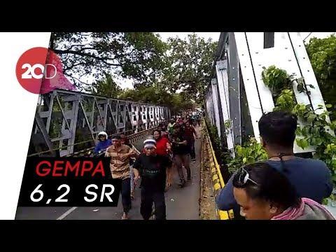NTB Gempa Lagi, Warga Lombok Utara Berlarian