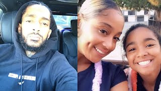 Sad News! Nipsey Hussle's 11 Year Old Daughter Emani Kicks Out Of House By Her Mom