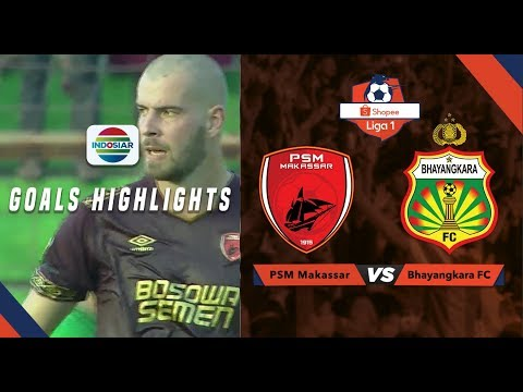 PSM Makassar  (2) vs Bhayangkara FC (1) - Goal Highlights | Shopee Liga 1